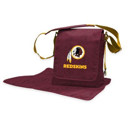 Lil Fan Washington Redskins Messenger Diaper Bag
