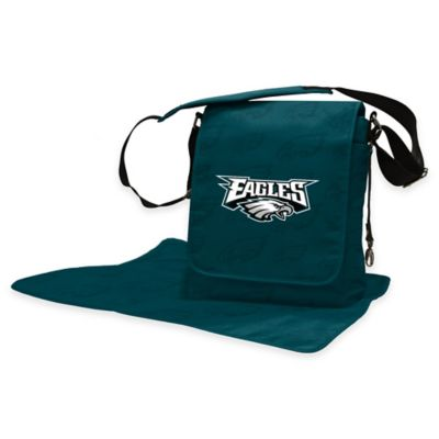 Lil Fan Philadelphia Eagles Messenger Diaper Bag