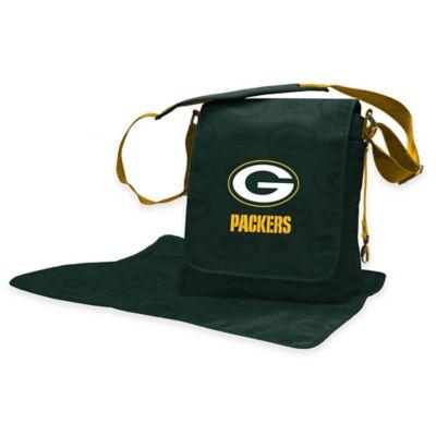 Lil Fan Green Bay Packers Messenger Diaper Bag
