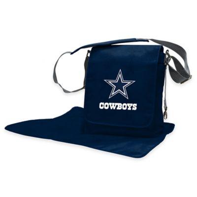 Lil Fan Dallas Cowboys Messenger Diaper Bag