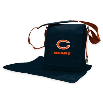 Lil Fan Chicago Bears Messenger Diaper Bag