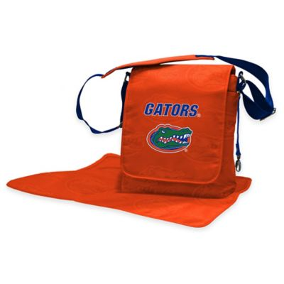 Lil Fan University of Florida Messenger Diaper Bag