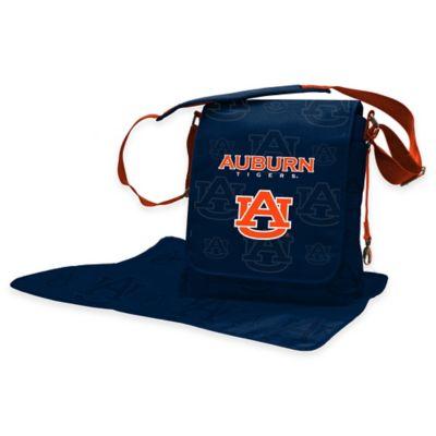 Lil Fan Auburn University Messenger Diaper Bag