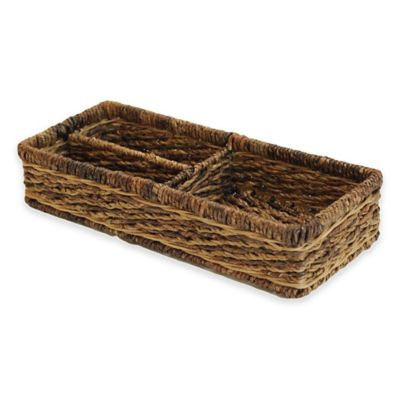 Baum Montego Bay Divided Storage Basket
