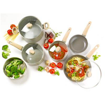 Ceramic Aluminum Cookware Set