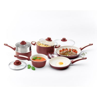 Ceramic Red Cookware