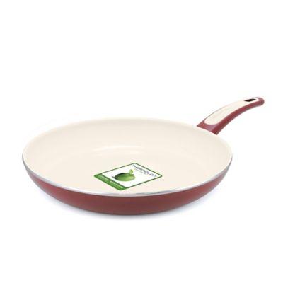 GreenPan™ Focus 12-Inch Nonstick Fry Pan in Burgundy