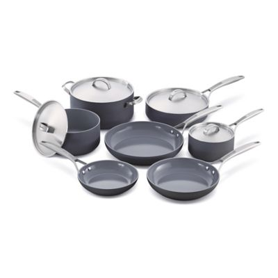 GreenPan™ Paris 11-Piece Hard Anodized Nonstick Cookware Set