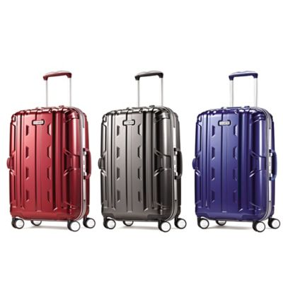 Samsonite® Cruisair DLX 21-Inch 8-Wheel Carry On Spinner in Blue