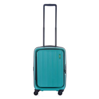 Lojel Hatch 22-Inch 4-Wheel Expandable Carry On Spinner in Sea Green