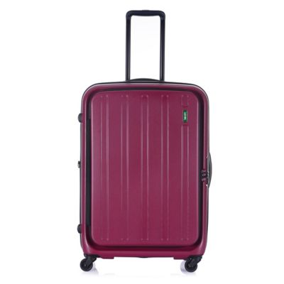 Lojel Hatch 29-Inch 4-Wheel Expandable Spinner in Plum