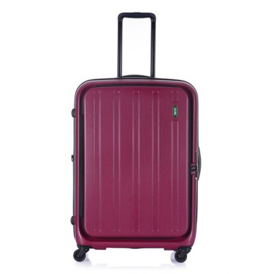 Lojel Hatch 27-Inch 4-Wheel Expandable Spinner in Plum