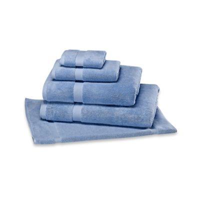 Peacock Blue Bath Towels
