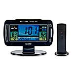 Sharp Jumbo LCD Wireless Weather Station