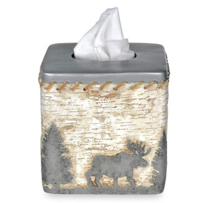 Saranac Boutique Tissue Holder