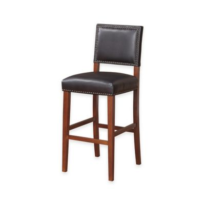 Brook 30-Inch Barstool in Black