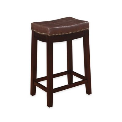 Claridge Patches 24-Inch Counter Stool in Brown
