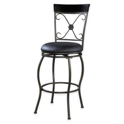 Basque 24-Inch Counter Stool in Brown