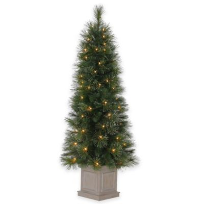 5-Foot Pre-Lit Astoria Dew Drop Pot Tree