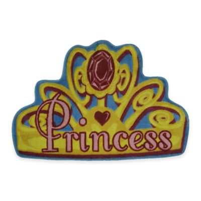 Fun Rugs™ Shy Princess 2-Foot 7-Inch x 3-Foot 11-Inch Accent Rug
