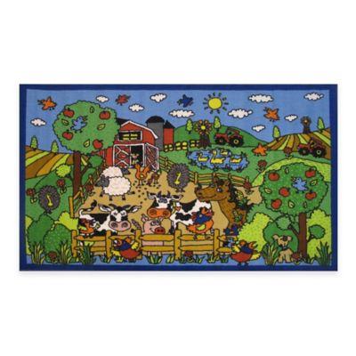 Fun Rugs™ Happy Farm Accent Rug