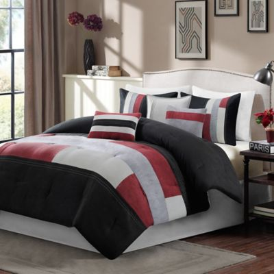 Madison Park Canyon 7-Piece King Comforter Set