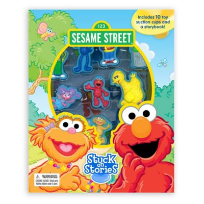 Sesame Street® Stuck on Stories Board Book