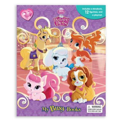 Disney® Palace Pets My Busy Book