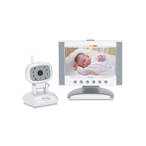 baby 39 s quiet sounds day and night color flat screen video monitor bed bath beyond. Black Bedroom Furniture Sets. Home Design Ideas
