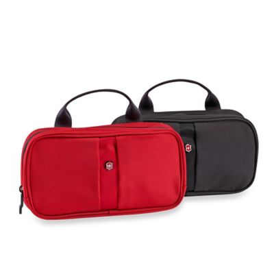Victorinox Small Toiletry Case in Red