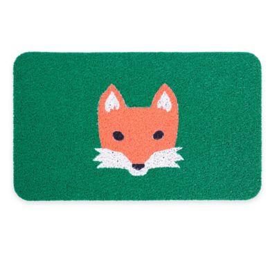 Kikkerland® Design 29.5-Inch x 17.7-Inch Fox Doormat