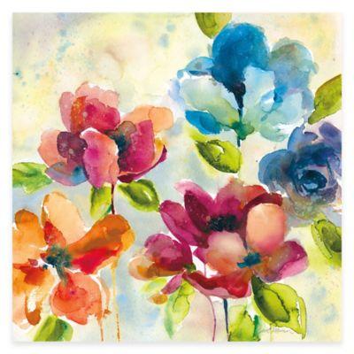 Color My World I Canvas Wall Art