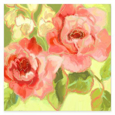 Fresh Bloom V Canvas Wall Art