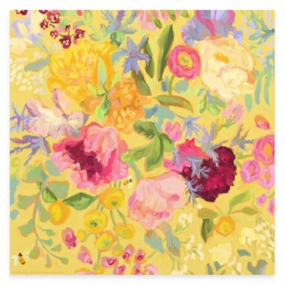 Spring Floral II Canvas Wall Art