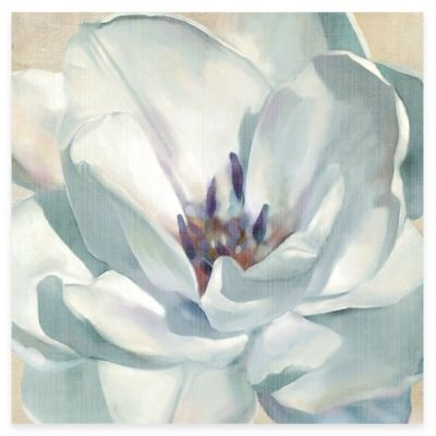 White Flower II Canvas Wall Art