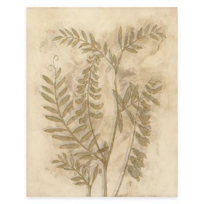 Gilded Foliage I Canvas Wall Art