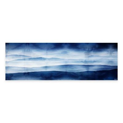 Mountains 45-Inch x 15-Inch Canvas Wall Art