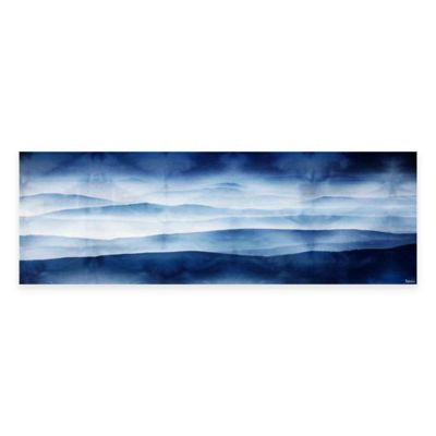 Mountains 60-Inch x 20-Inch Canvas Wall Art
