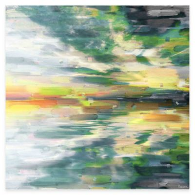 Parvez Taj Color Explosion 32-Inch x 32-Inch Canvas Wall Art