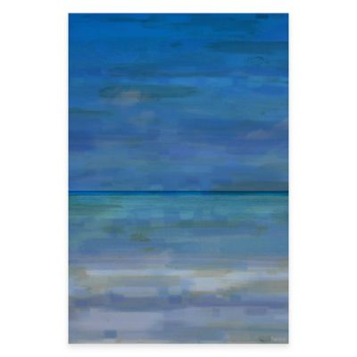 """Stonehaven"""" 18-Inch x 12-Inch Canvas Wall Art"""