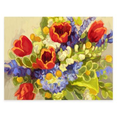 Floral Garden Wall