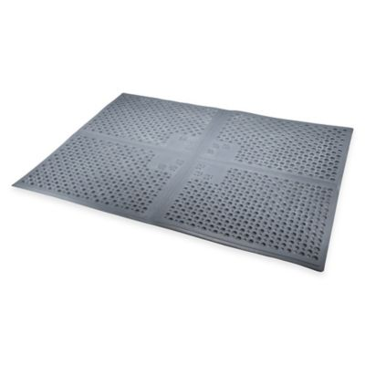 Purr-fect Paws™ Extra Large Litter Mat in Grey