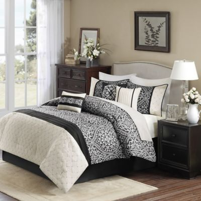 Madison Park Dover 7-Piece California King Comforter Set