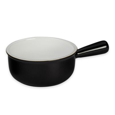 Le Creuset® French Onion Soup Bowl in Black and White