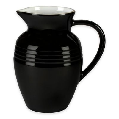 Black and White Pitcher