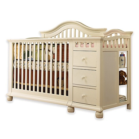 Sorelle Cape Cod 4 In 1 Crib And Changer In French White