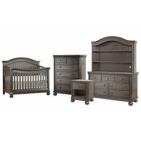 sorelle finley nursery furniture collection in vintage grey bed bath beyond. Black Bedroom Furniture Sets. Home Design Ideas