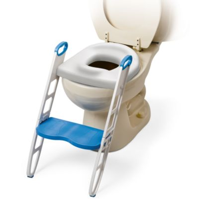 Potty Seats > Mommy's Helper™ Padded Potty Seat with Step Stool