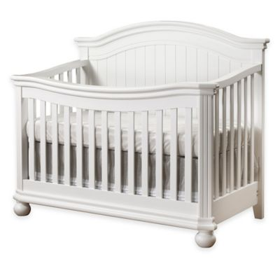 Sorelle Finley Nursery Furniture Collection in White > Sorelle Finley 4-in-1 Convertible Crib in White