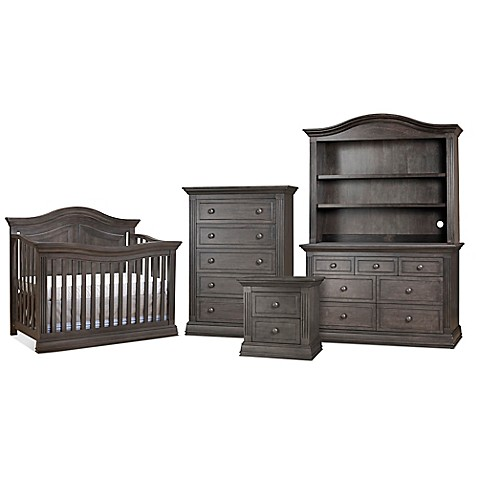 Sorelle Providence Nursery Furniture Collection In Vintage Grey Buybuy Baby